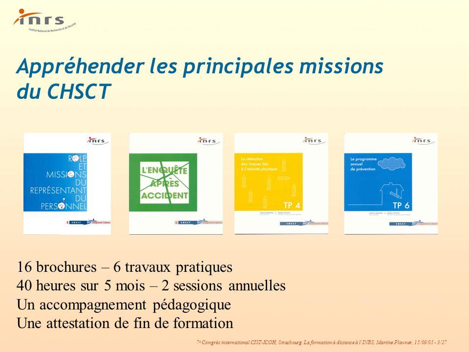 Appréhender les principales missions du CHSCT
