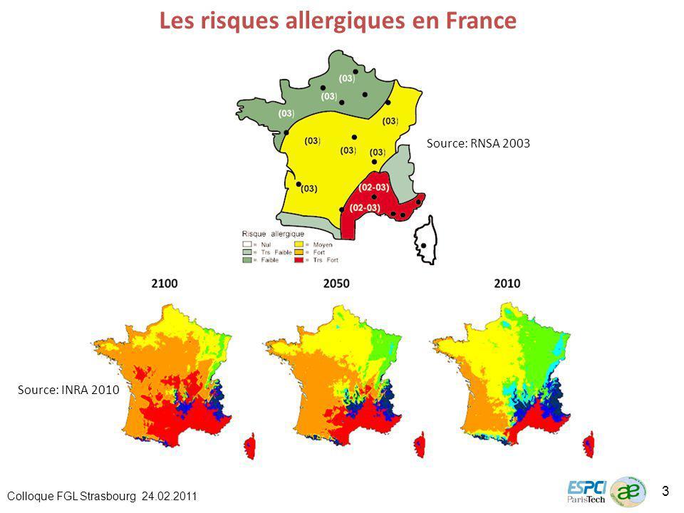 Les risques allergiques en France