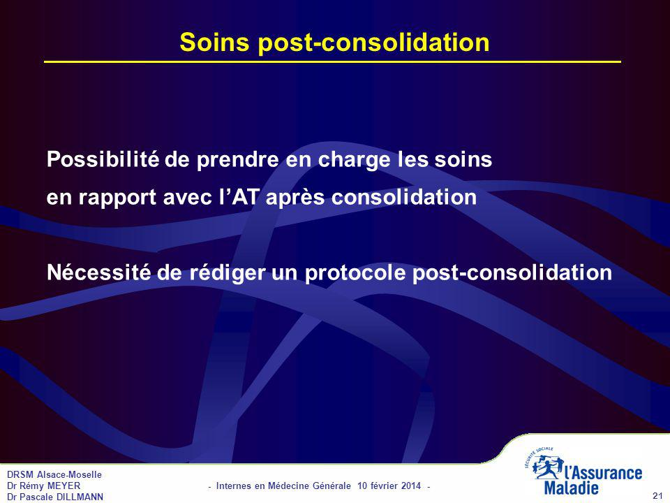 Soins post-consolidation
