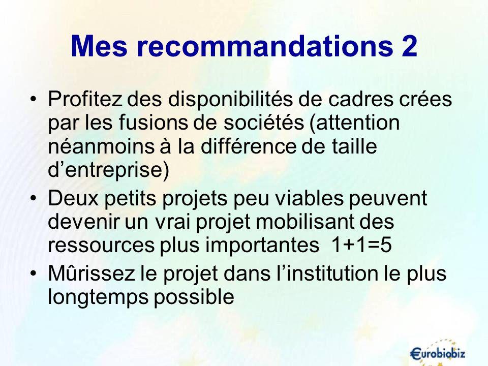 Mes recommandations 2