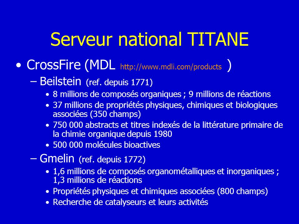 Serveur national TITANE