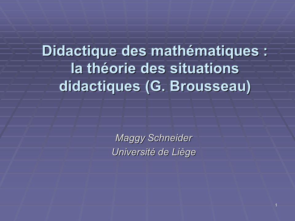 Maggy Schneider Université de Liège