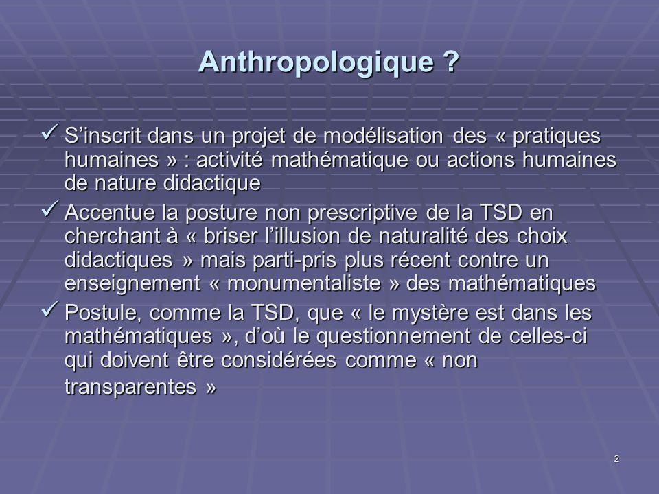 Anthropologique