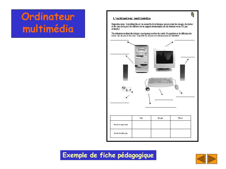 Ordinateur multimédia