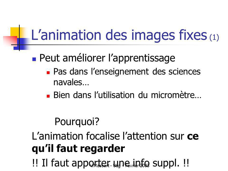 L'animation des images fixes (1)