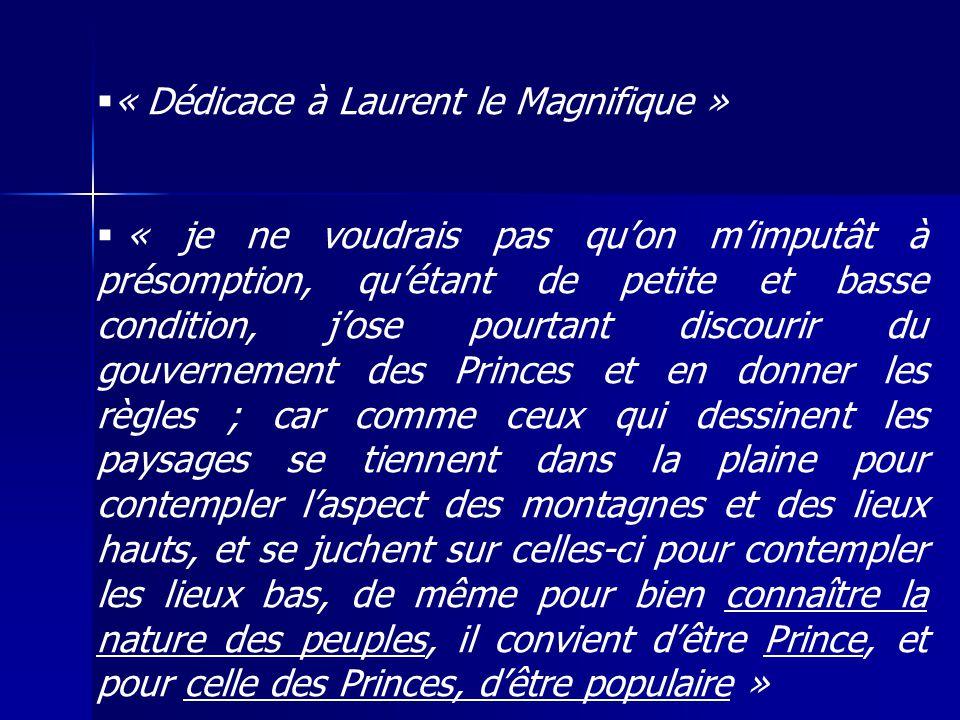 « Dédicace à Laurent le Magnifique »