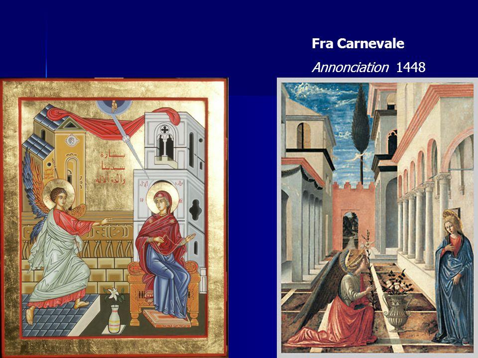 Fra Carnevale Annonciation 1448