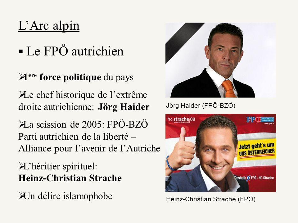 L'Arc alpin Le FPÖ autrichien 1ère force politique du pays
