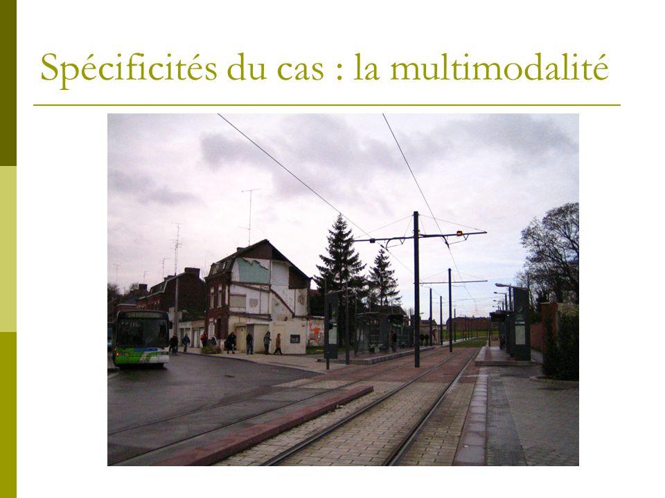 Spécificités du cas : la multimodalité