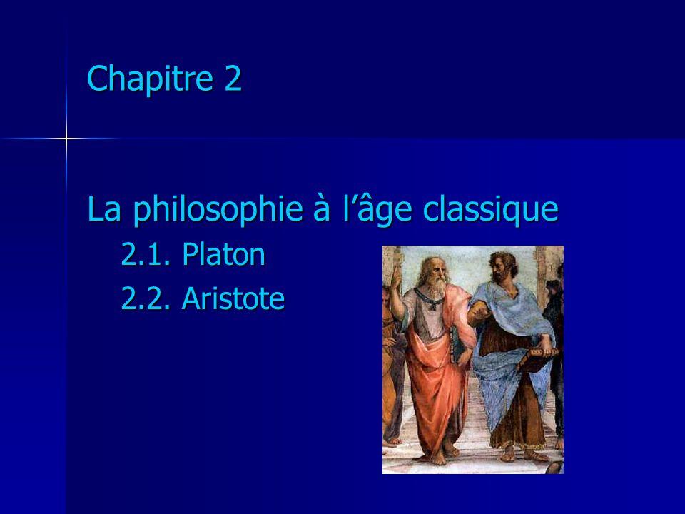 La philosophie à l'âge classique