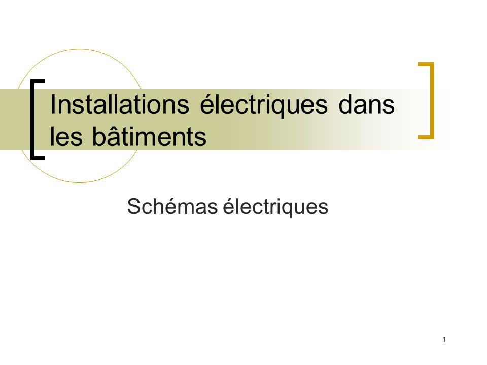 Installations électriques dans les bâtiments