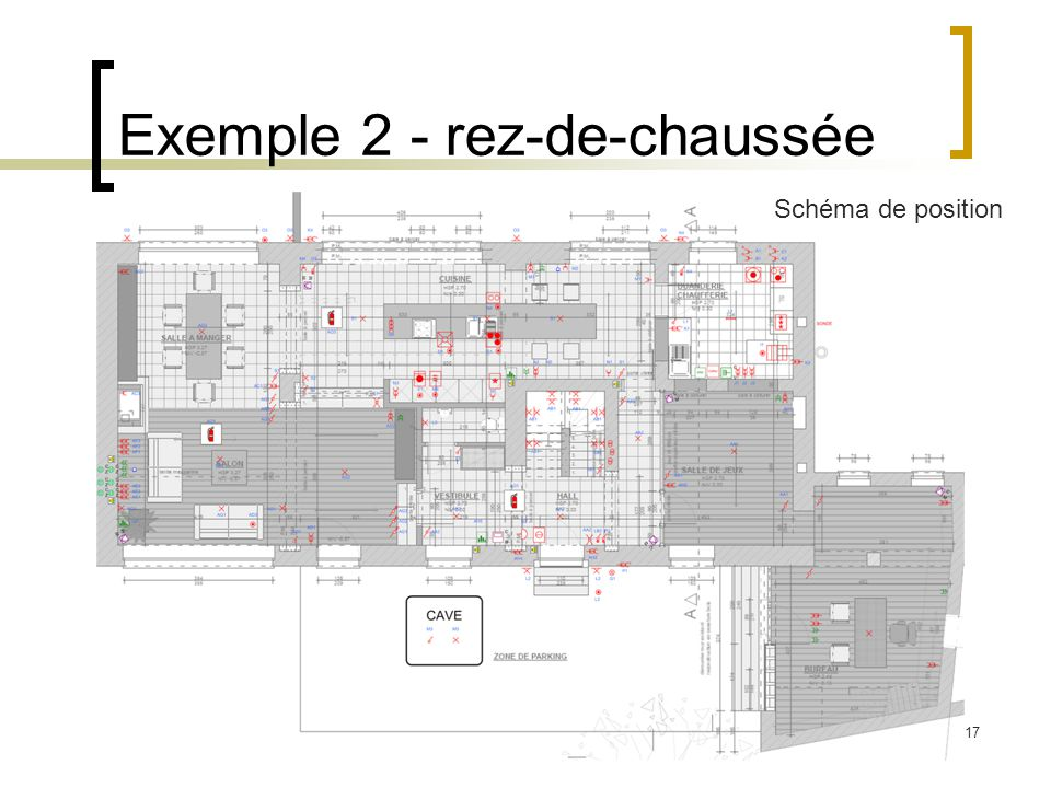 Exemple 2 - rez-de-chaussée