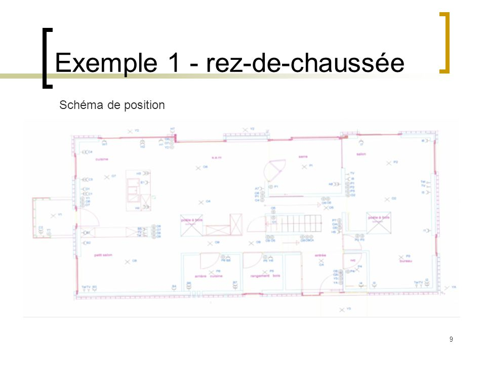 Exemple 1 - rez-de-chaussée