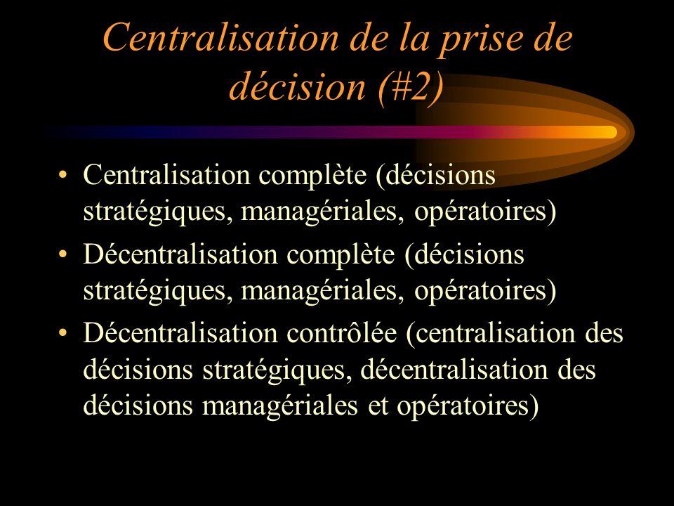 Centralisation de la prise de décision (#2)