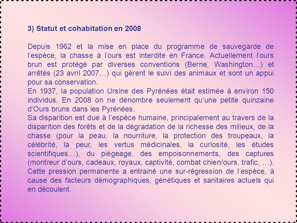 3) Statut et cohabitation en 2008