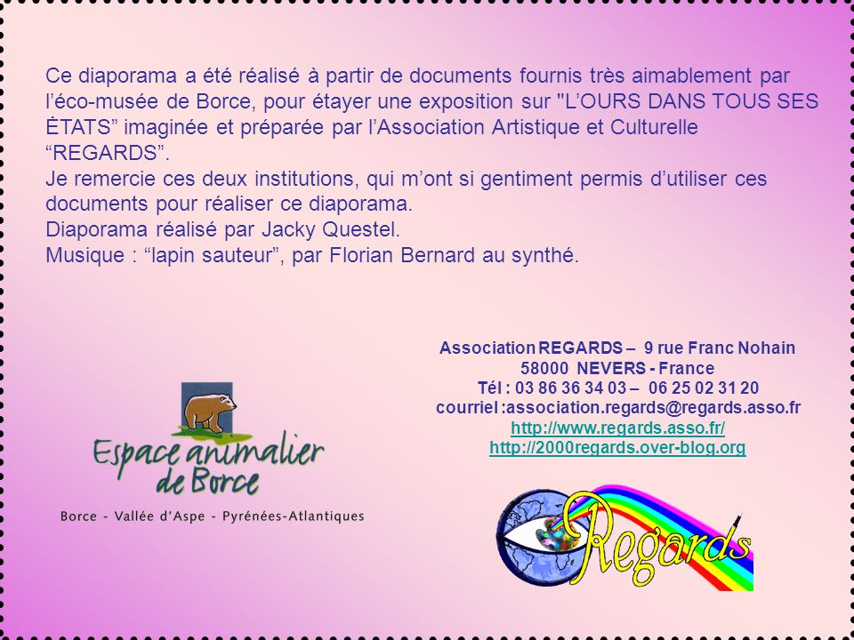 Association REGARDS – 9 rue Franc Nohain
