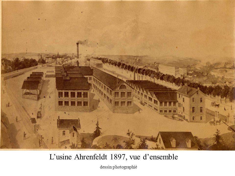 L'usine Ahrenfeldt 1897, vue d'ensemble