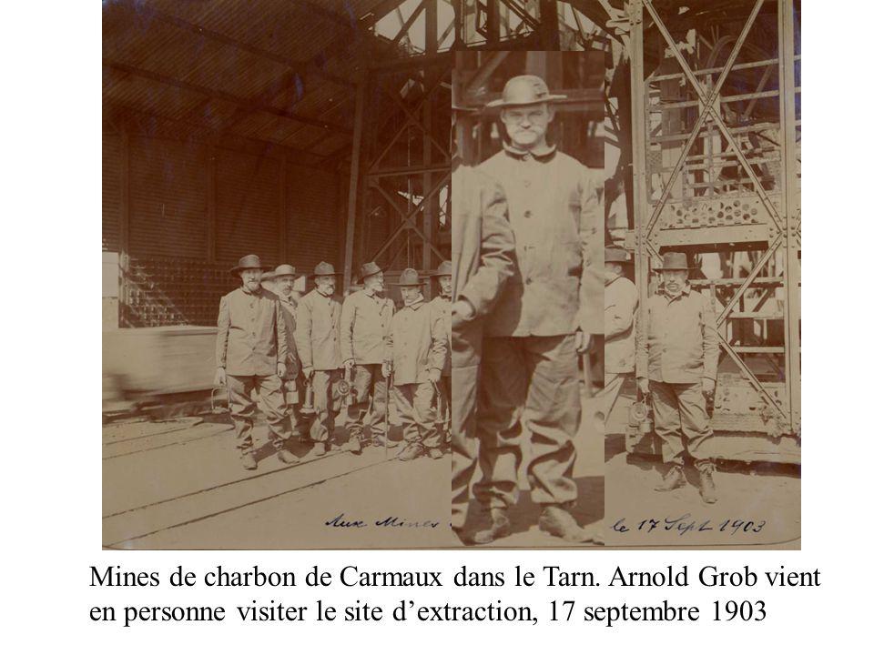 Mines de charbon de Carmaux dans le Tarn