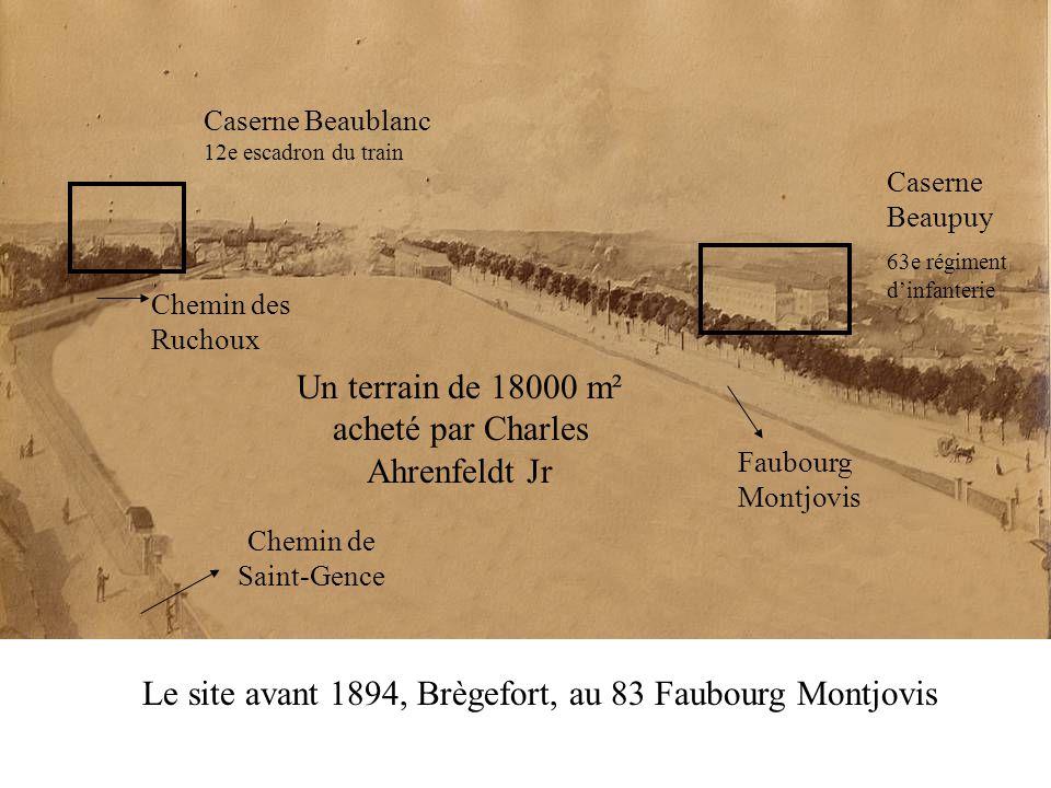 Un terrain de 18000 m² acheté par Charles Ahrenfeldt Jr
