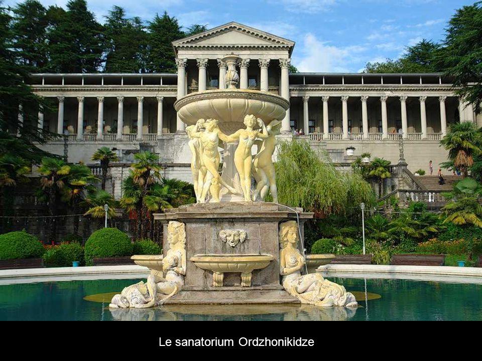 Le sanatorium Ordzhonikidze
