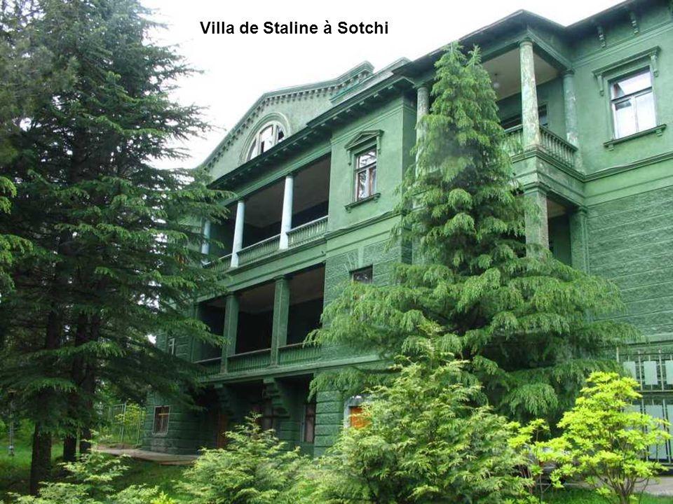 Villa de Staline à Sotchi