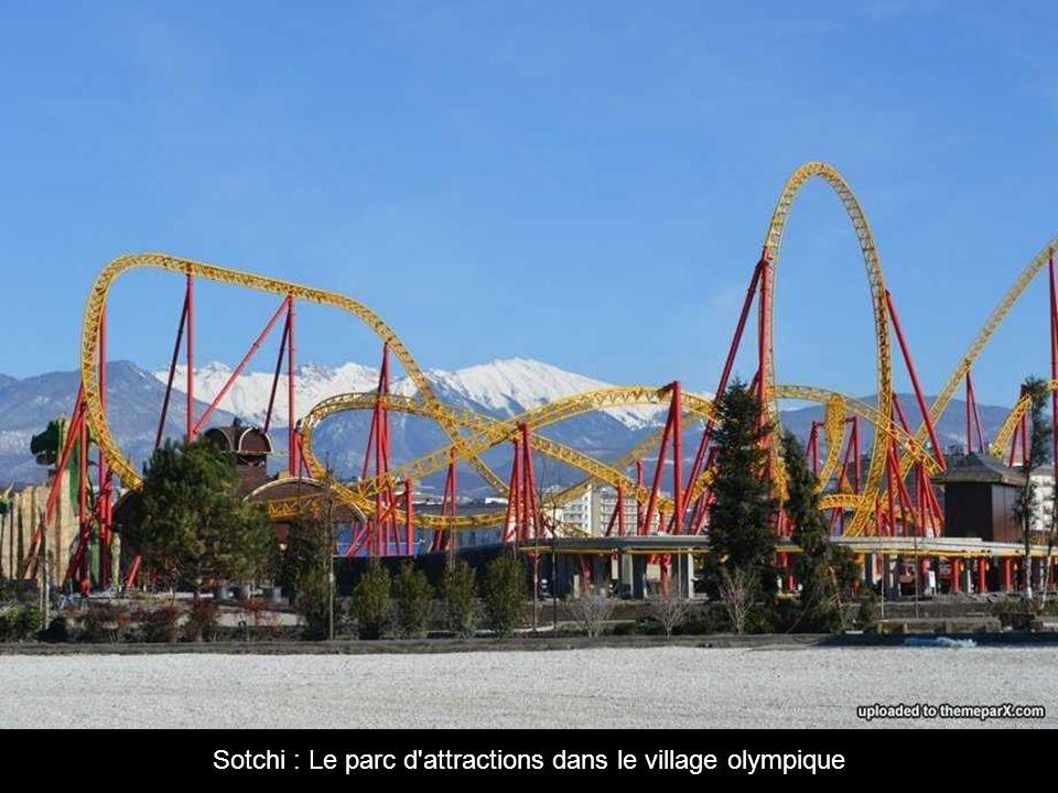 Sotchi : Le parc d attractions dans le village olympique
