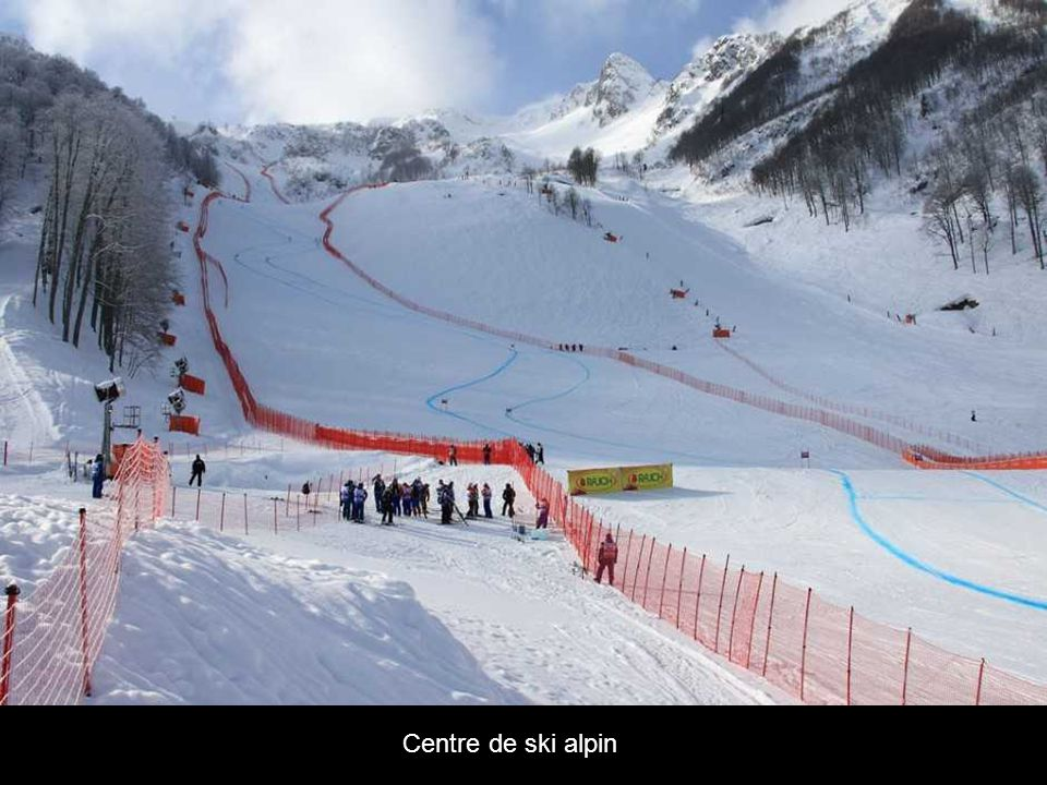 Centre de ski alpin