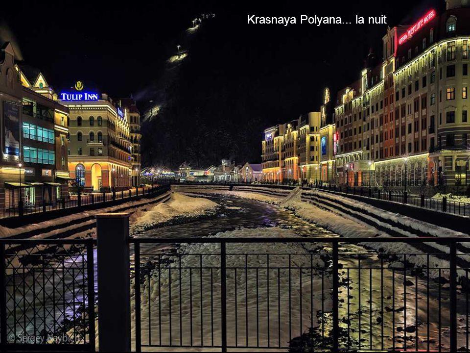 Krasnaya Polyana... la nuit
