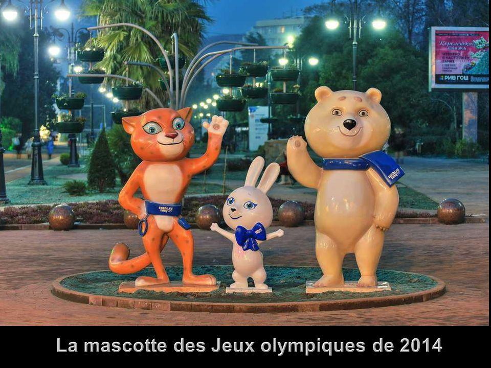 La mascotte des Jeux olympiques de 2014