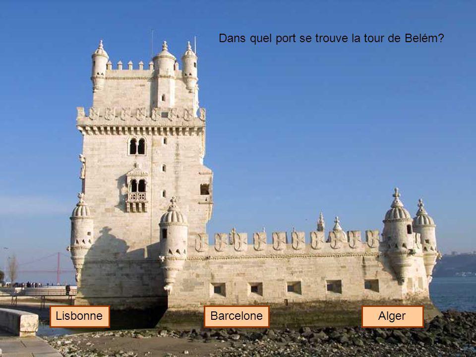 Dans quel port se trouve la tour de Belém