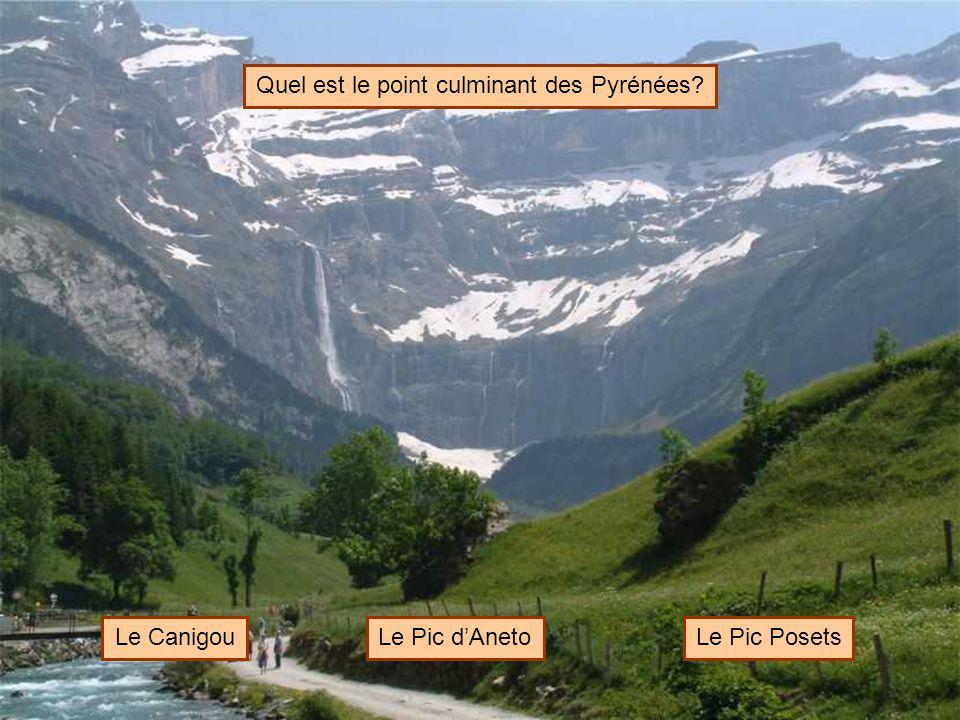 Quel est le point culminant des Pyrénées