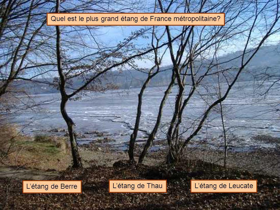 Quel est le plus grand étang de France métropolitaine
