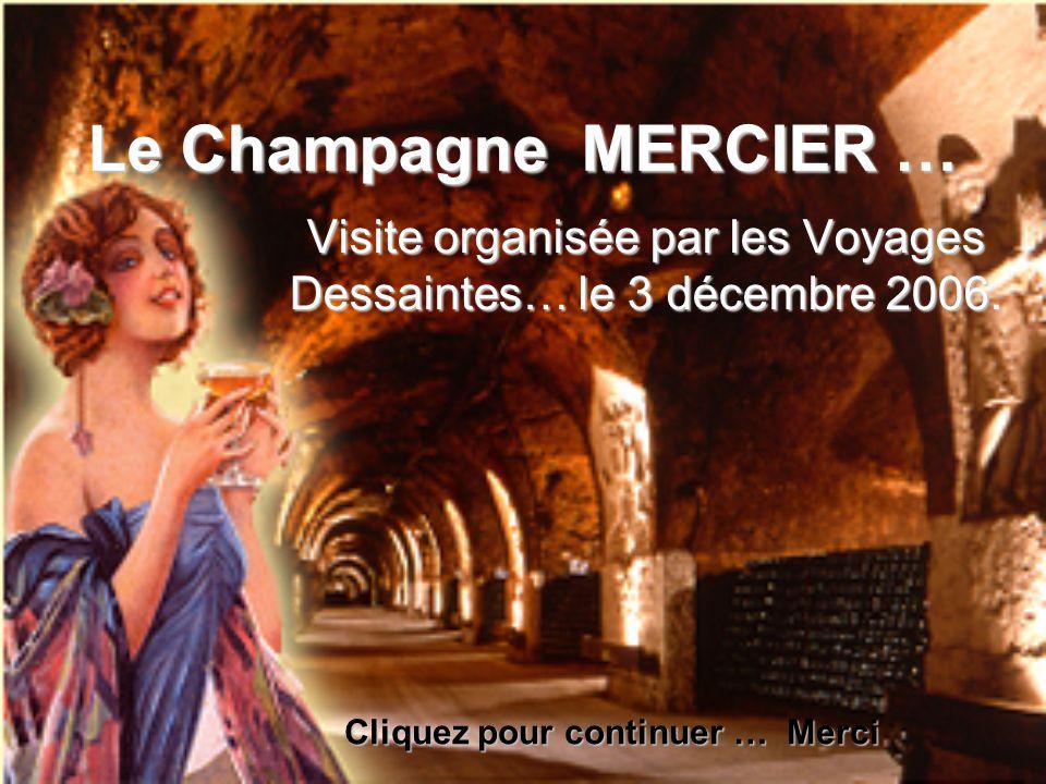 Visite organisée par les Voyages Dessaintes… le 3 décembre 2006.