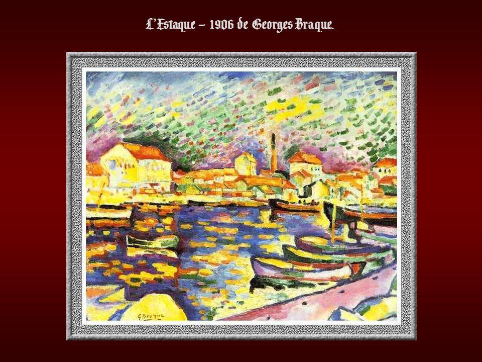 L'Estaque – 1906 de Georges Braque.