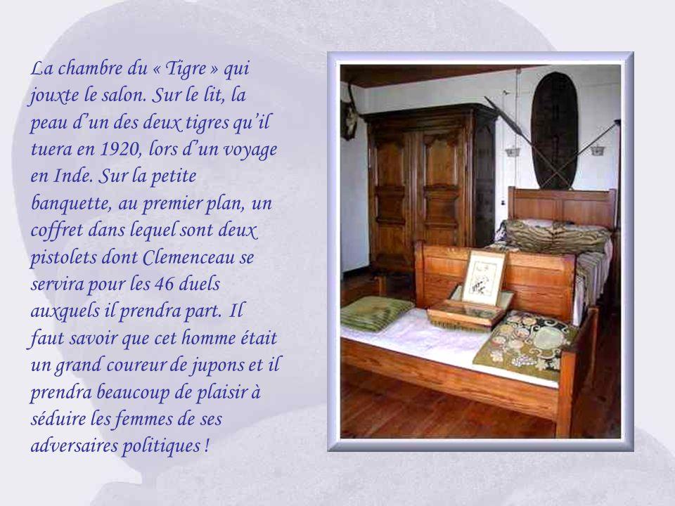 La chambre du « Tigre » qui jouxte le salon