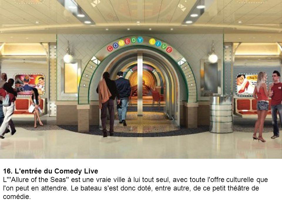 16. L entrée du Comedy Live