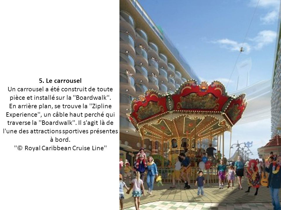 5. Le carrousel.