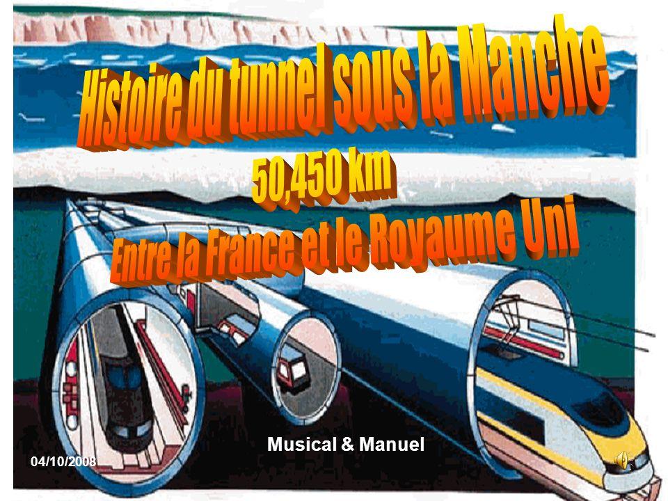 Histoire du tunnel sous la Manche