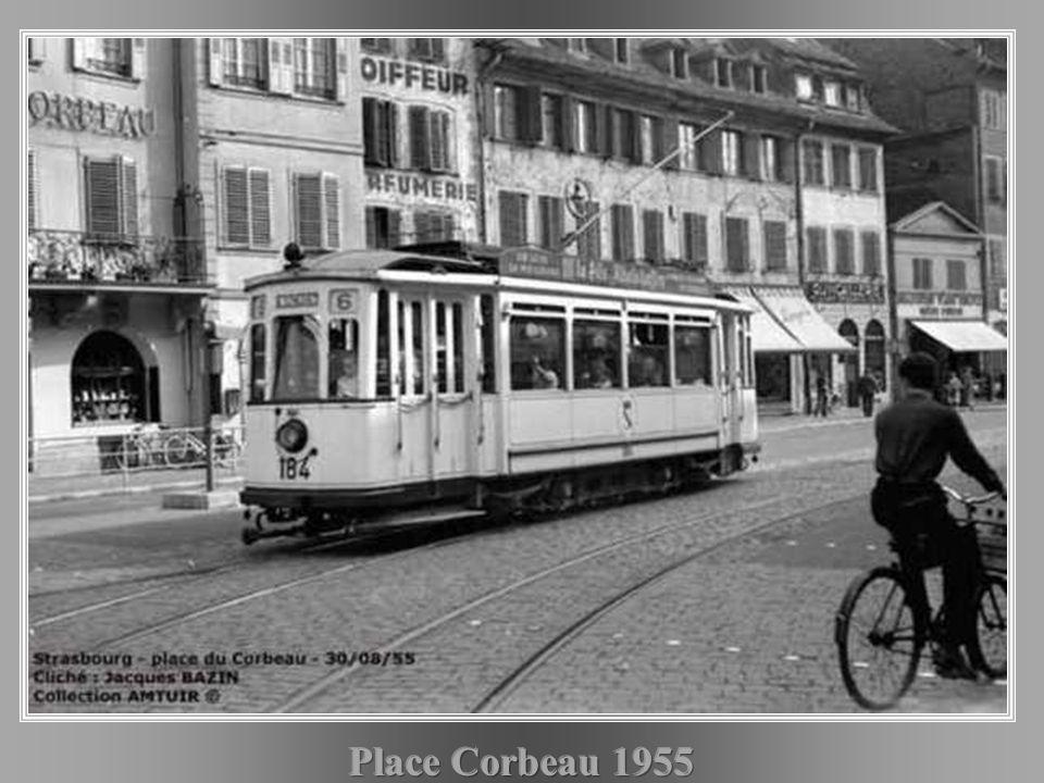 Place Corbeau 1955