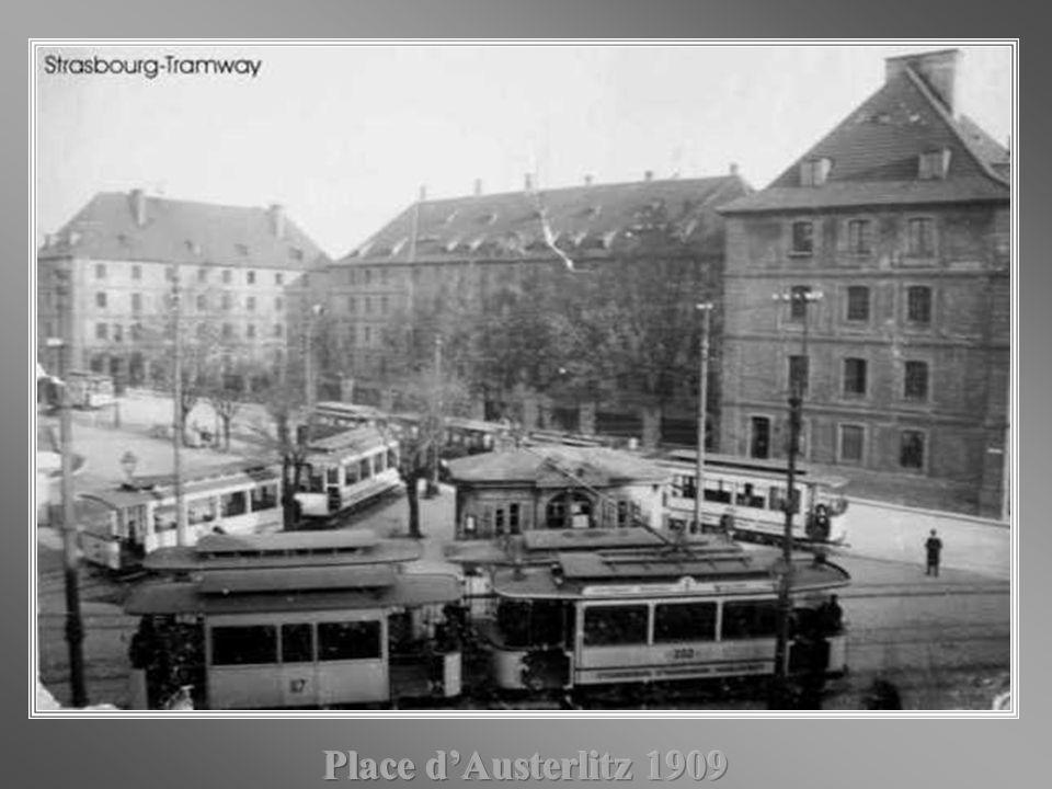 Place d'Austerlitz 1909