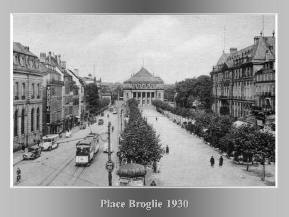 Place Broglie 1930