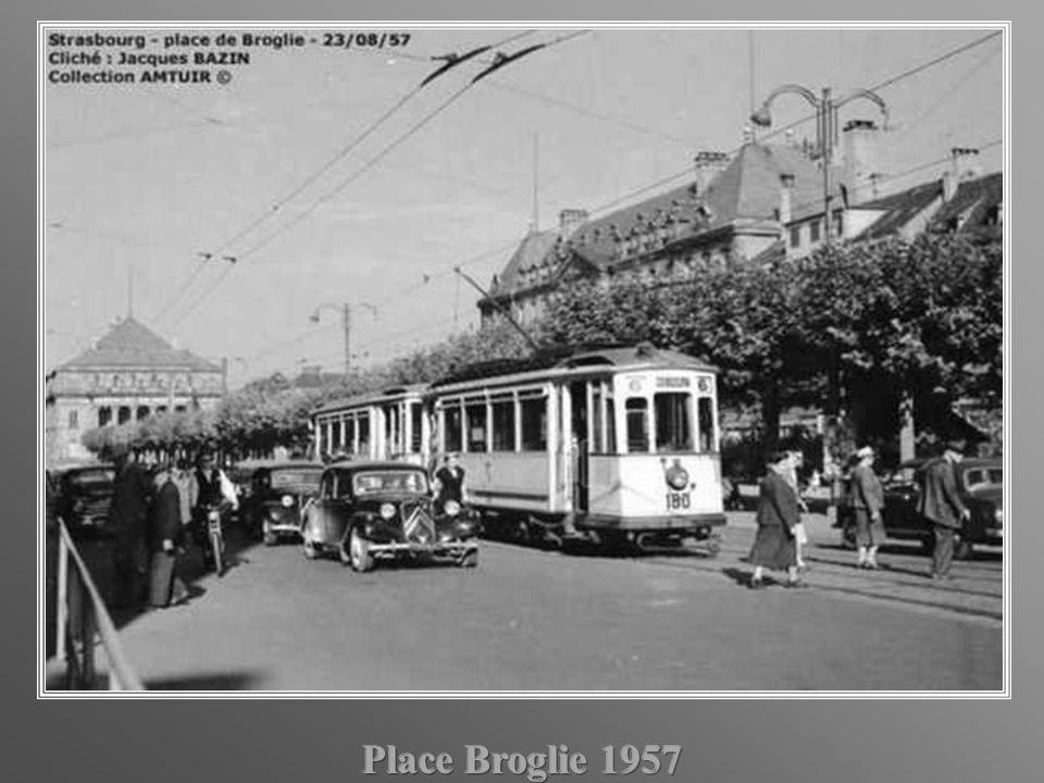 Place Broglie 1957
