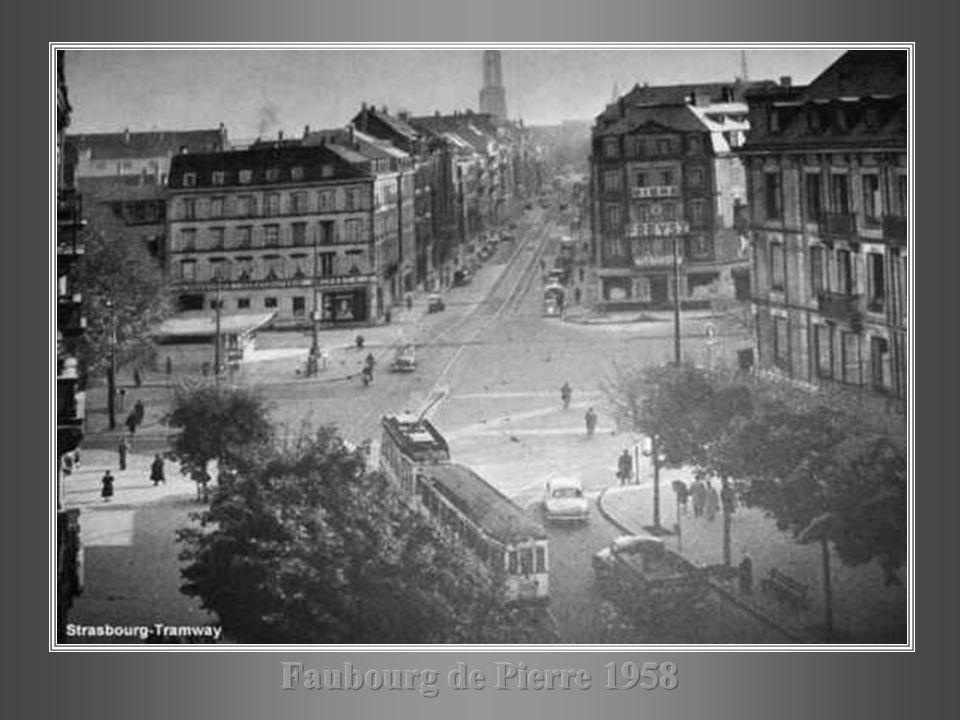 Faubourg de Pierre 1958