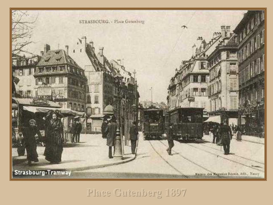 Place Gutenberg 1897