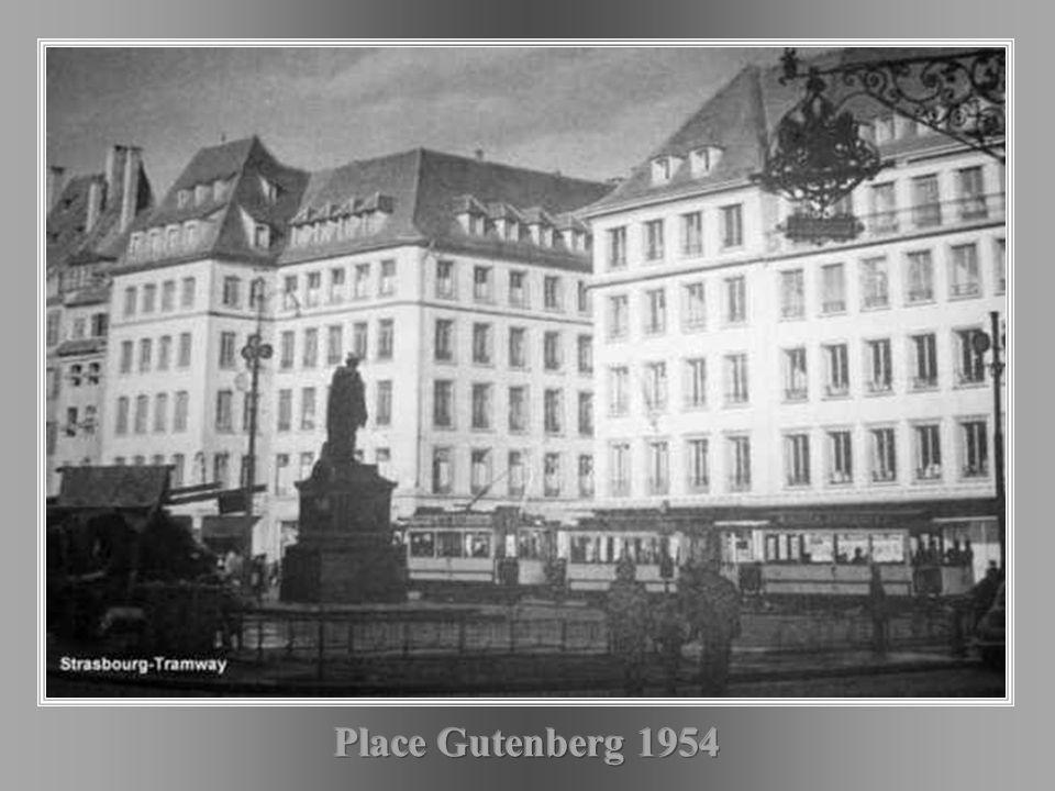Place Gutenberg 1954