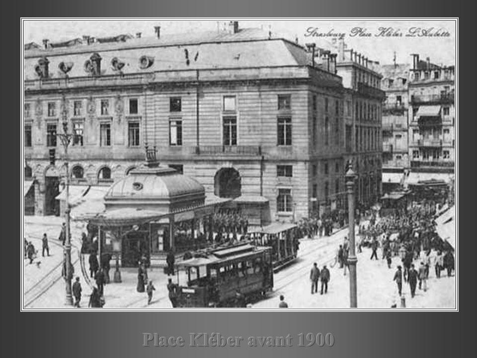 Place Kléber avant 1900