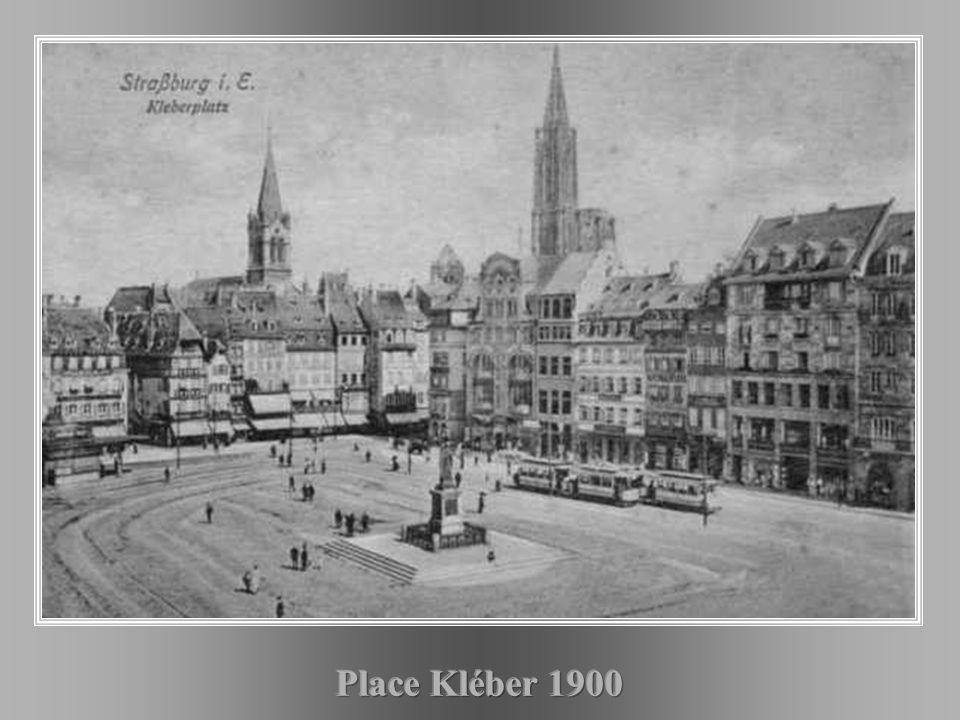 Place Kléber 1900