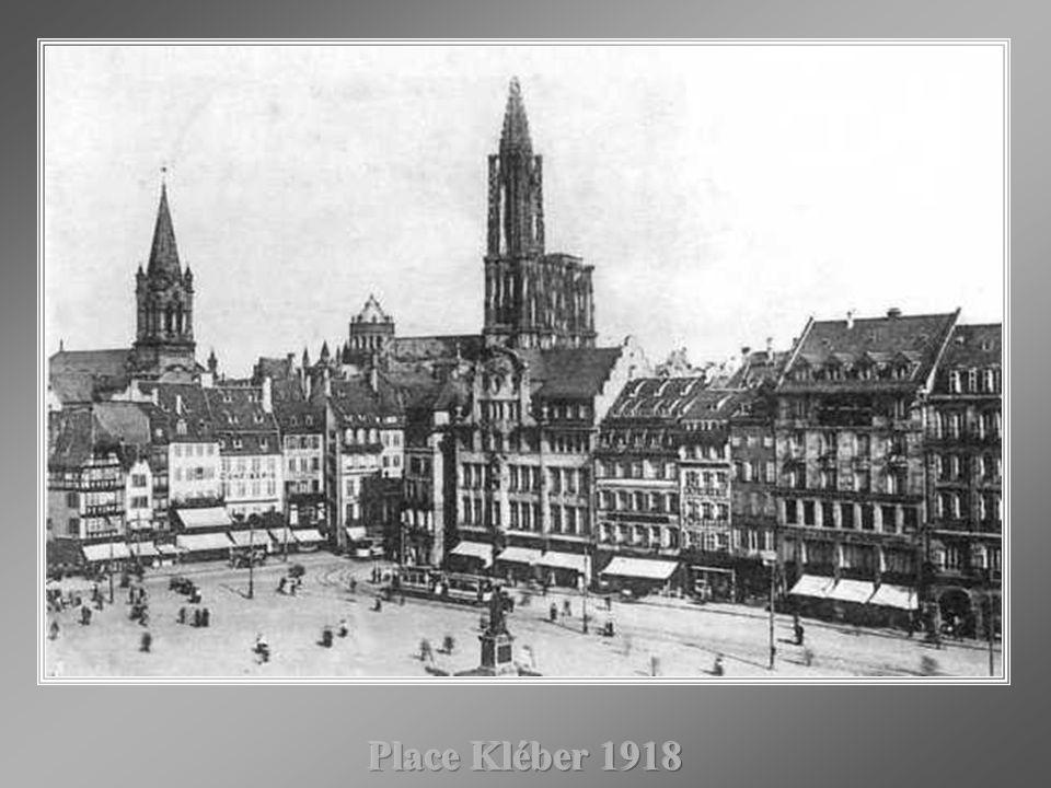Place Kléber 1918