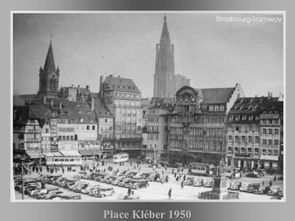 Place Kléber 1950