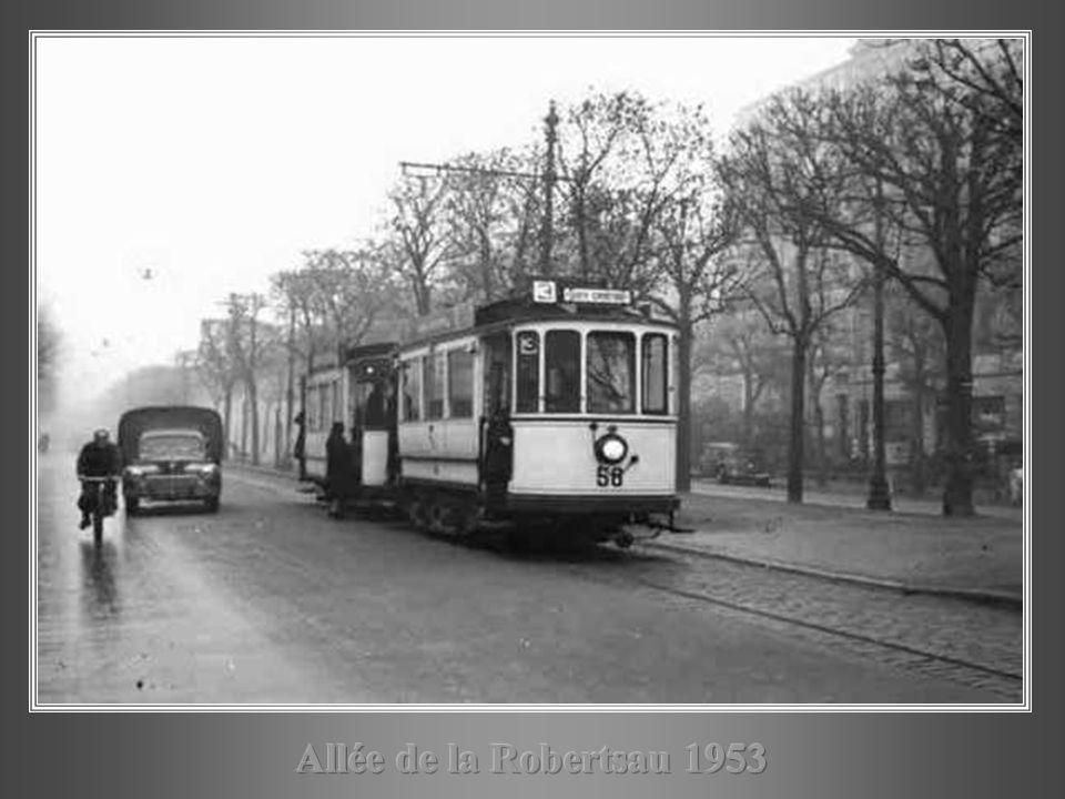 Allée de la Robertsau 1953